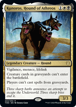 Kunoros, Hound of Athreos